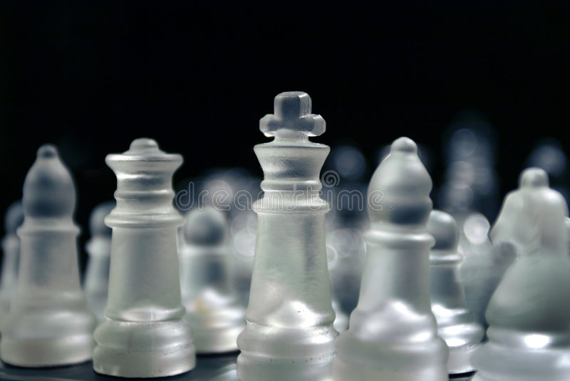 stary szachowi fotografia royalty free
