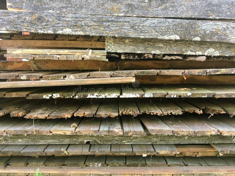 Stary szary drewniany p?otowy t?o obraz stock