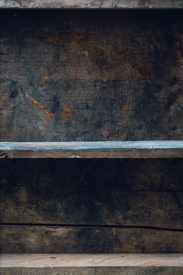 stary szelfowy drewno obrazy stock
