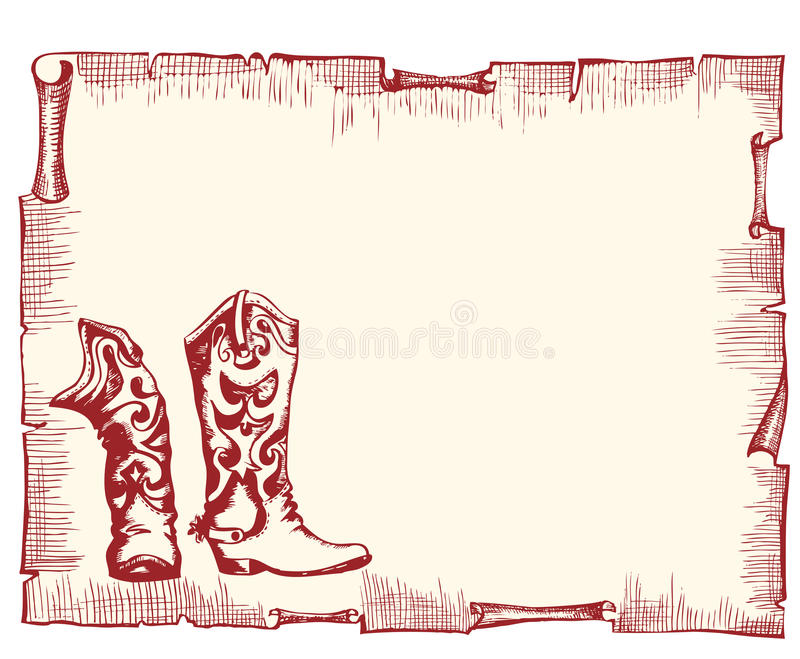 stary tło papier royalty ilustracja