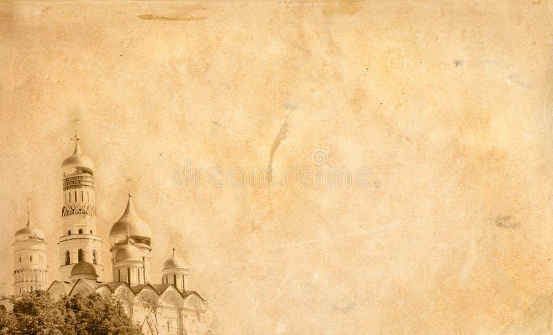 stary tło papier ilustracja wektor