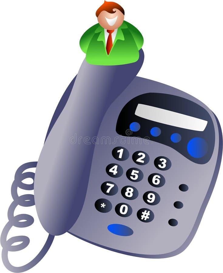 stary telefon royalty ilustracja