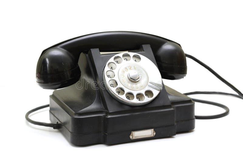 stary telefon zdjęcia royalty free