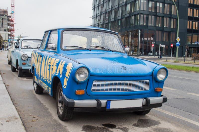 Stary trabant samochód zdjęcie stock