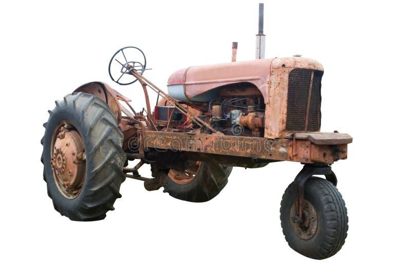 stary trackor zdjęcie stock