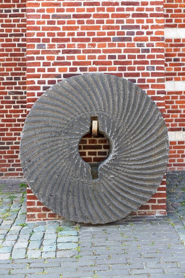 Stary tradycyjny Holenderski wiatraczek zdjęcia royalty free