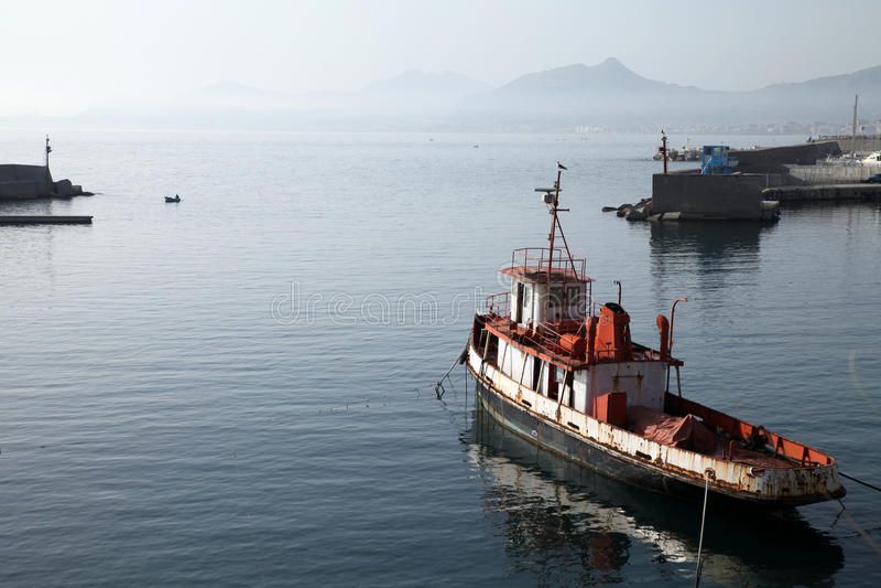 stary tugboat fotografia royalty free
