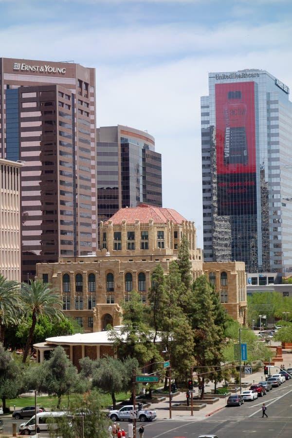 Stary urząd miasta, Phoenix, AZ fotografia royalty free