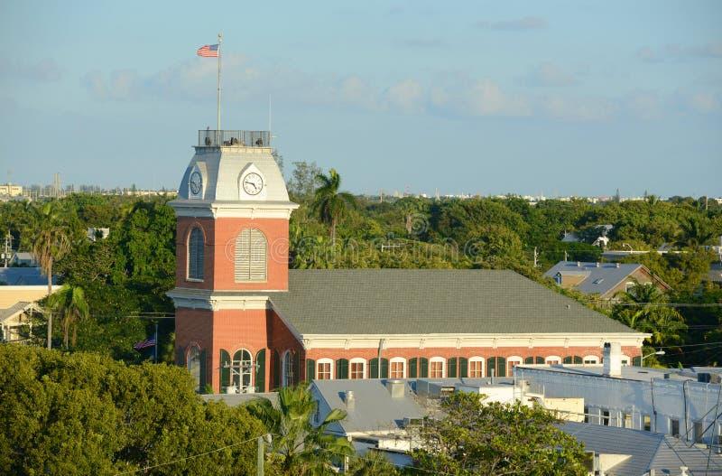Stary urząd miasta w Key West, Floryda obrazy royalty free