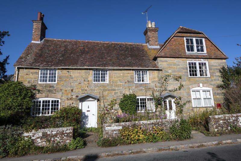 Stary urząd pocztowy, Brightling, Wschodni Sussex, Anglia zdjęcia stock