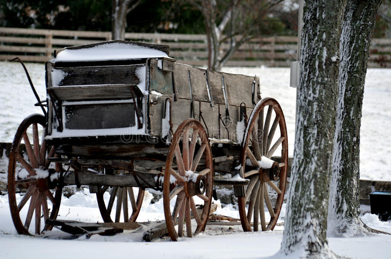 stary wóz obrazy stock