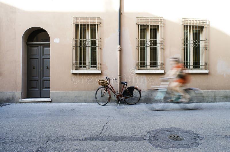 Stary Włoski bicykl obrazy royalty free