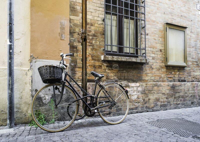 Stary Włoski bicykl zdjęcia royalty free