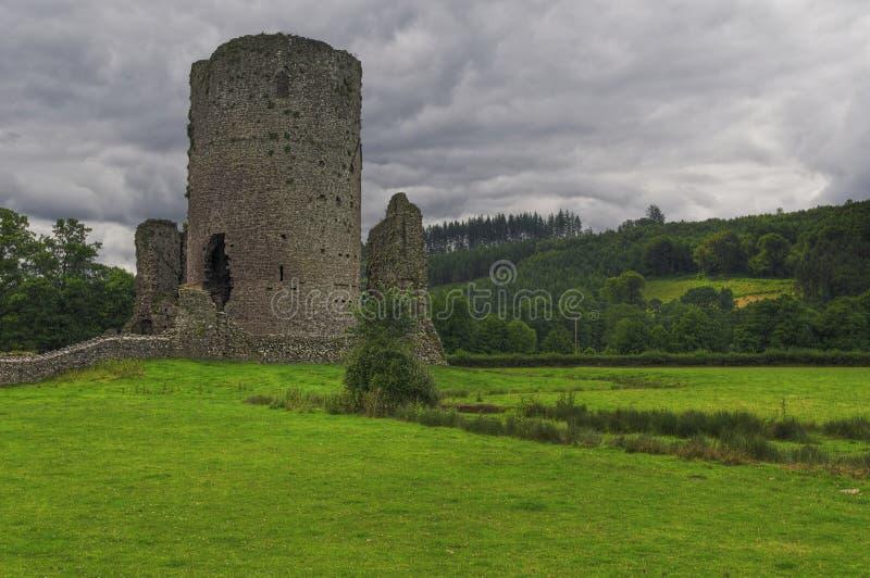 stary Wales zamek obrazy royalty free