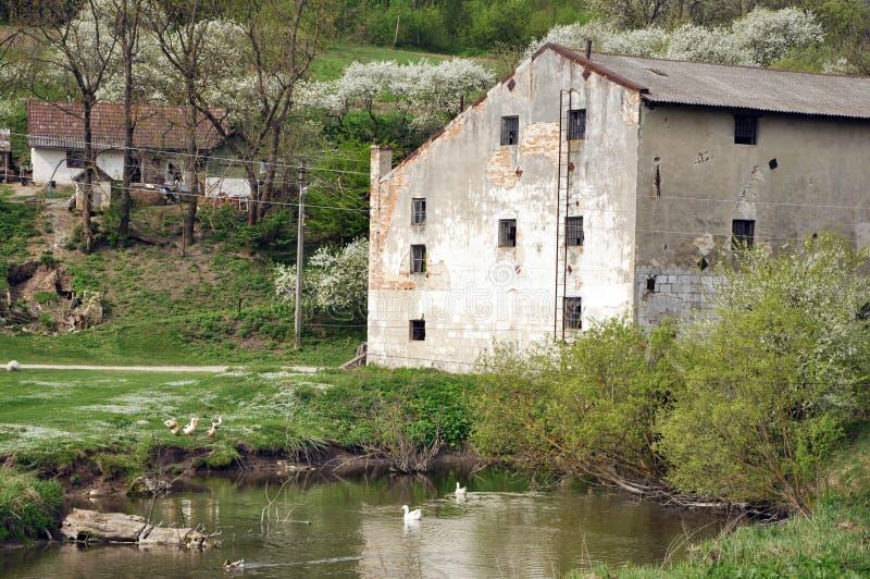 Stary watermill zdjęcia royalty free
