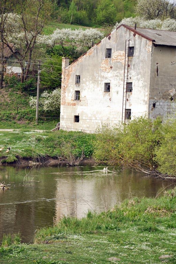 Stary watermill zdjęcie stock