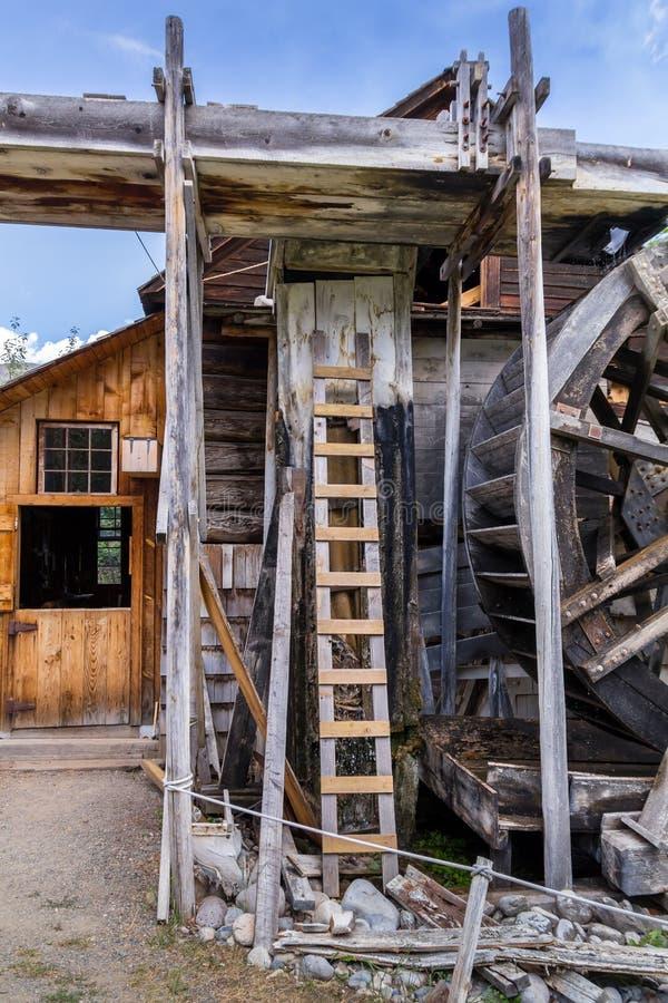 stary watermill obraz royalty free