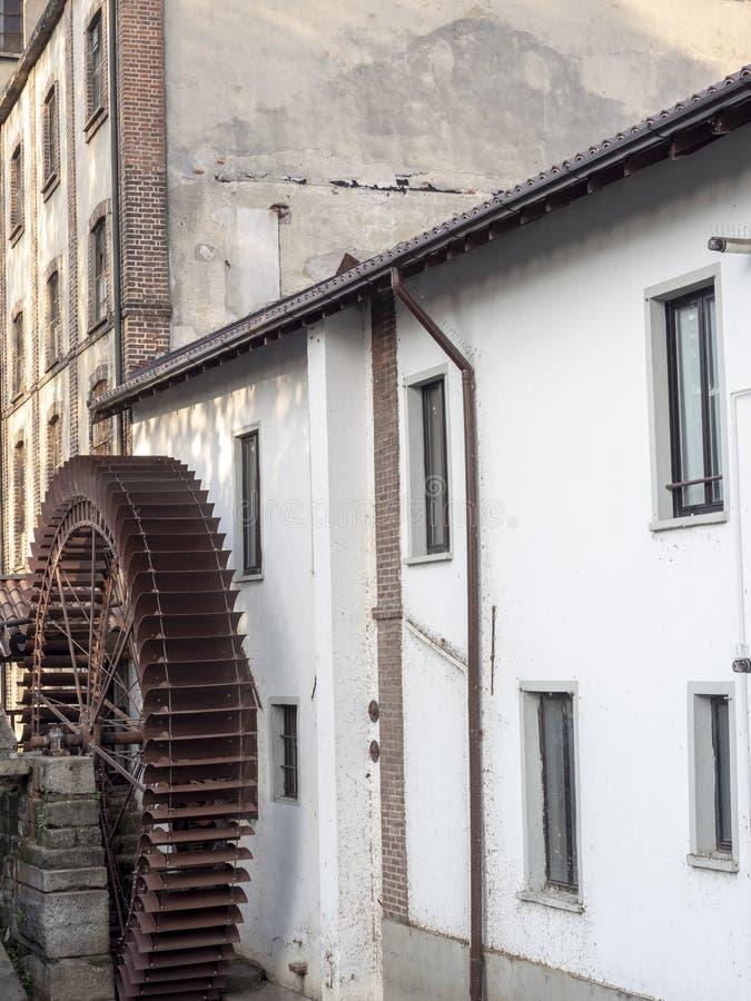 Stary watermill w San Donato Milanese, Italy fotografia stock