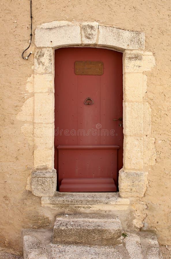 Stary wejściowy drzwi zdjęcie stock