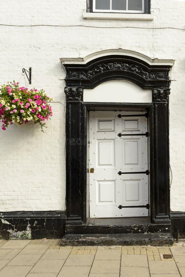 Stary wejściowy drzwi, Henley na Thames zdjęcia royalty free