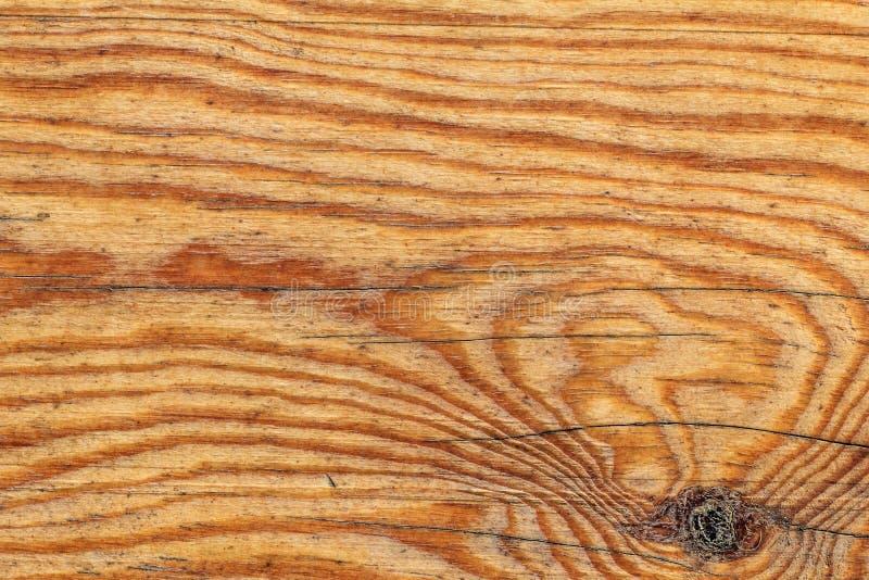 Stary Wietrzejący Supłający Polakierowany Pinewood deski Grunge tekstury szczegół obrazy stock