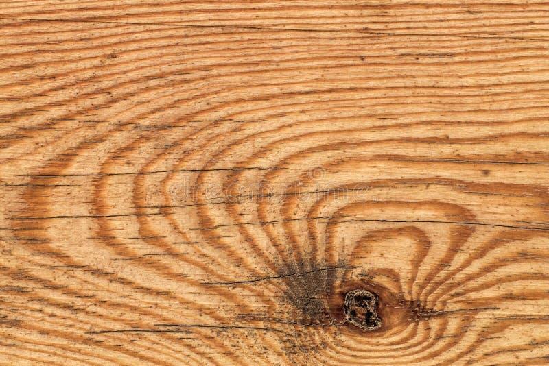 Stary Wietrzejący Supłający Polakierowany Pinewood deski Grunge tekstury szczegół fotografia stock