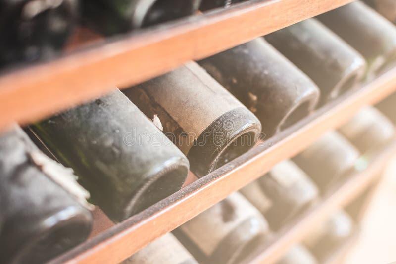 Stary wino fotografia royalty free
