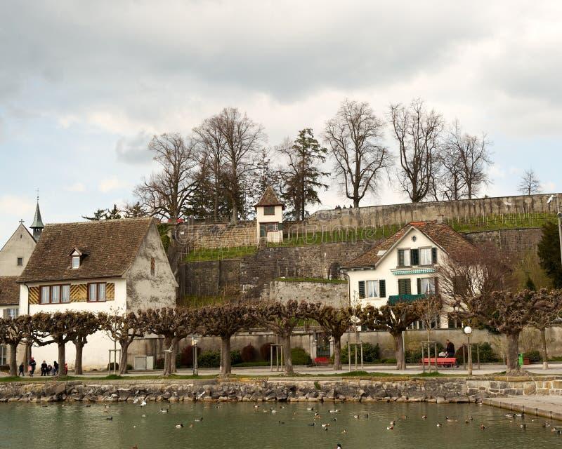 stary wioski nabrzeża świat obrazy stock
