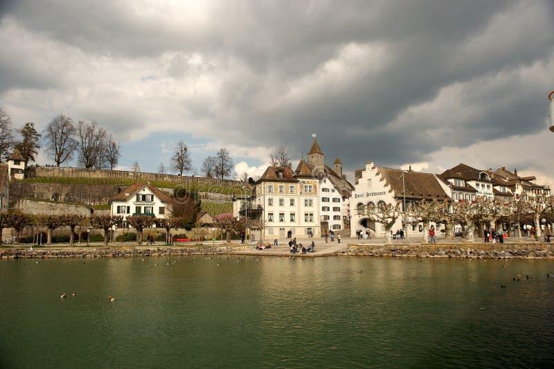 stary wioski nabrzeża świat fotografia stock