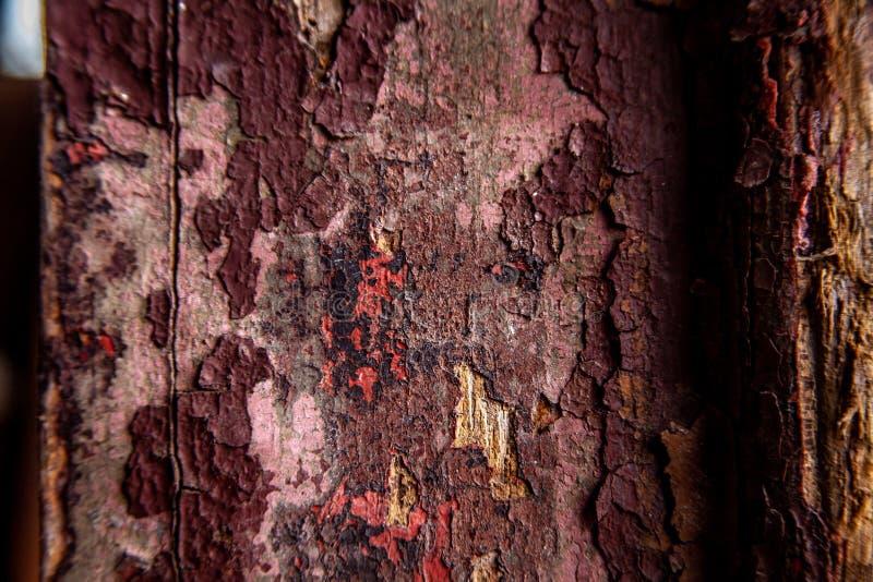 Stary złomowy drewniany tło lub tekstura zdjęcie royalty free