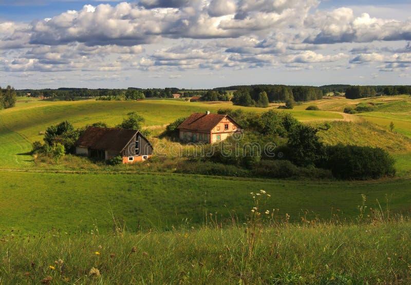 stary z gospodarstw rolnych zdjęcie stock