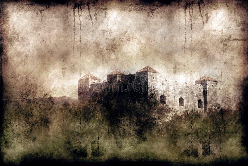 stary zamek ilustracja wektor