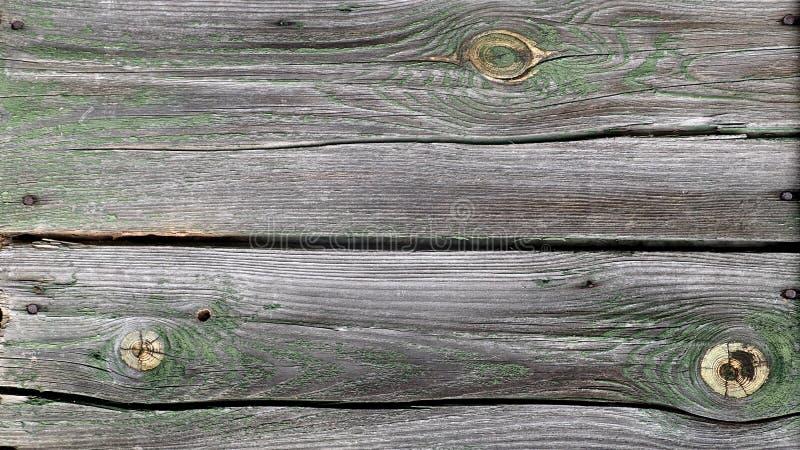 Stary zatarty drewniany ścienny tło obrazy royalty free