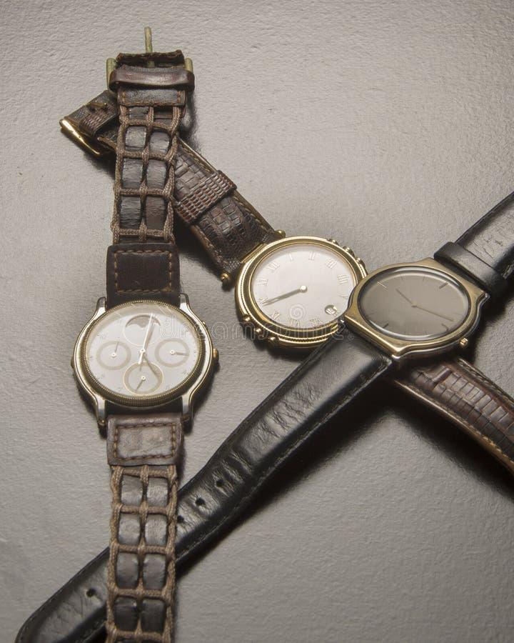 stary zegarek nadgarstek obrazy stock