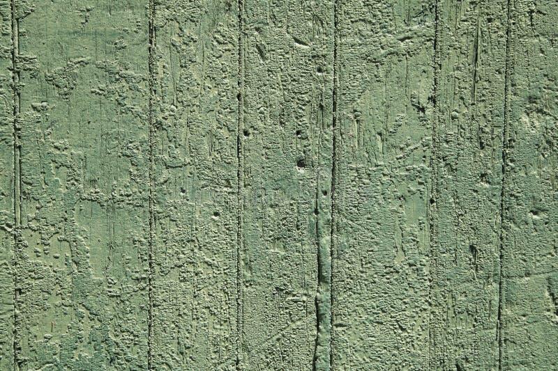 Stary Zielony obieranie farby tekstury tło fotografia stock