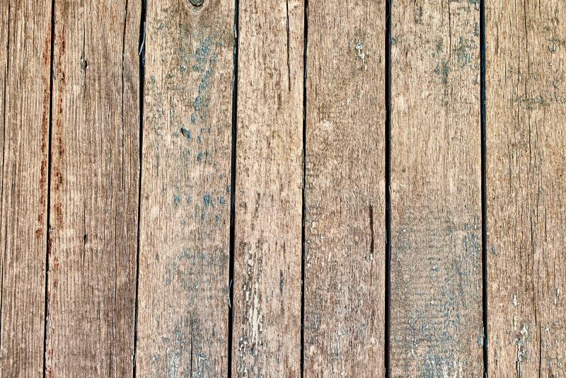 Starych drewnianych tekstur pionowo desek tła abstrakcjonistyczna powierzchnia obrazy royalty free