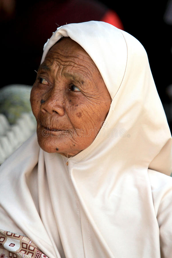 Starych kobiet twarze zdjęcia stock