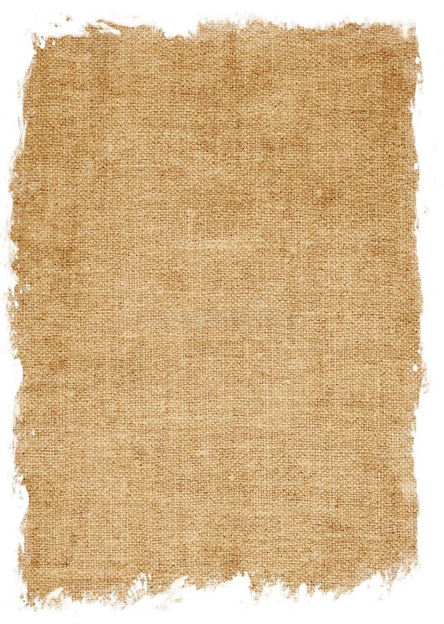 starzejący się kanwa odizolowywający tekstury biel obraz royalty free