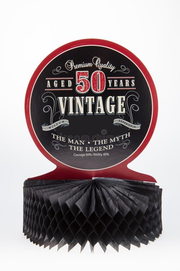 Starzejący się 50 rok zdjęcie royalty free