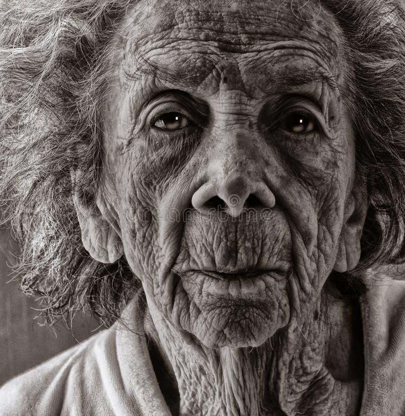 Starzejący się senior fotografia royalty free
