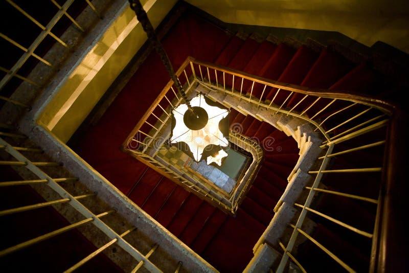 starzy ślimakowaci schodki zdjęcia royalty free
