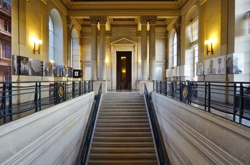 Starzy archiwa Nationales Francja w Paryż (obywatelów archiwa) fotografia stock