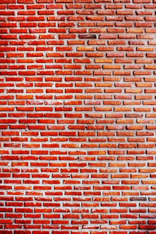 Starzy czerwoni ściana z cegieł tła obrazy royalty free