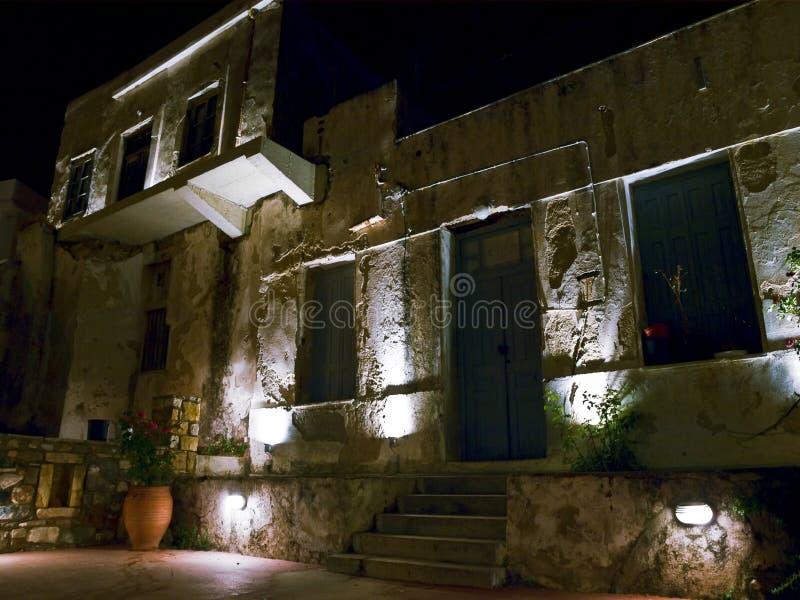 starzy domowi Grków naxos zdjęcia stock