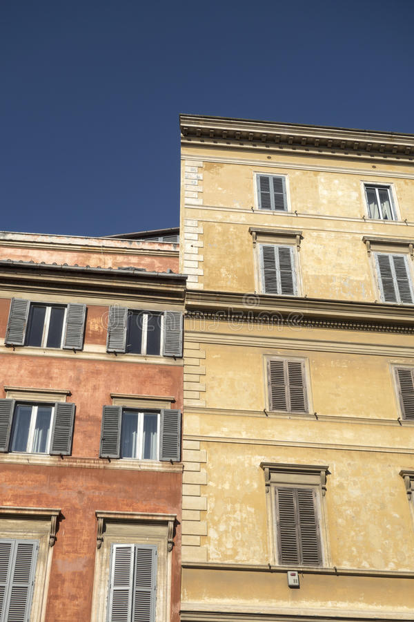 Starzy domy obrazy stock