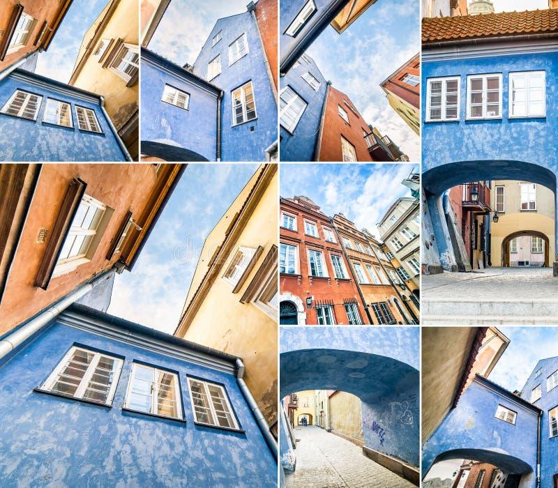 Download Starzy domy Warszawscy zdjęcie stock. Obraz złożonej z okno - 53791980