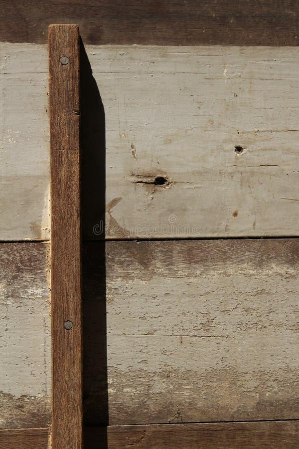 Starzy drewno panel dla tła obrazy stock