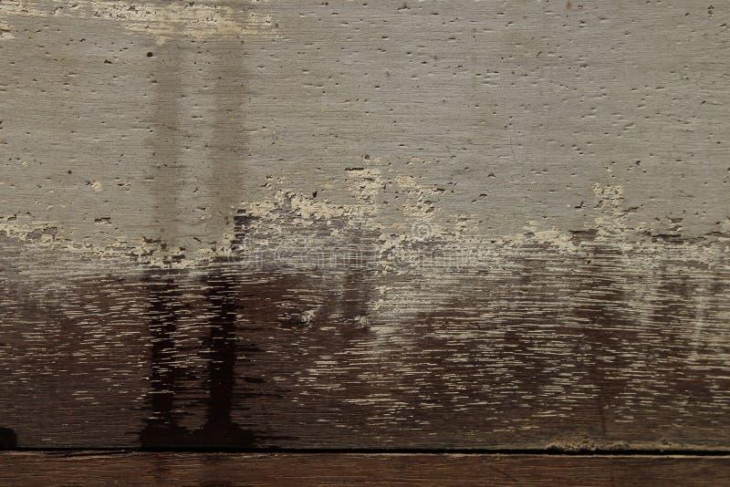 Starzy drewno panel dla tła zdjęcia stock