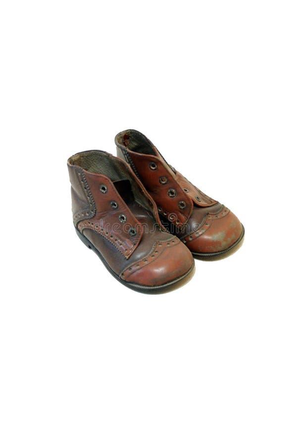 Starzy dziecko buty od 1971 obraz stock