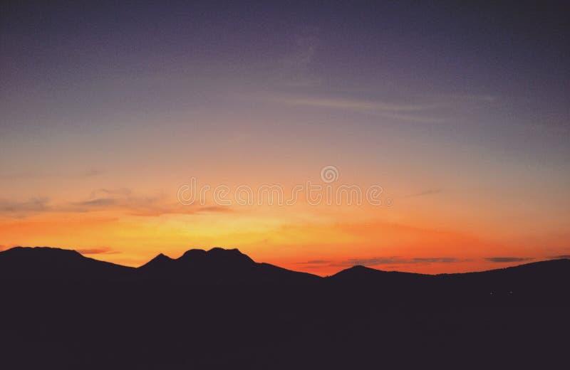 Starzy horyzonty fotografia stock